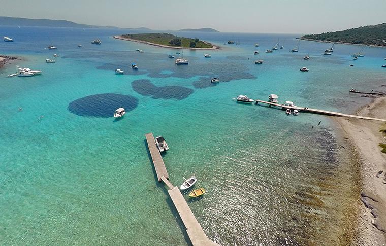 Blue Lagoon in Croatia